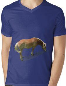 Horse from Kristberg (T-Shirt & iPhone case) Mens V-Neck T-Shirt
