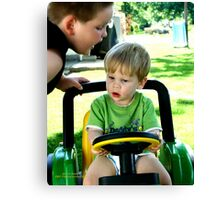 Driving Lessons Canvas Print