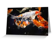 Koi 2 Greeting Card