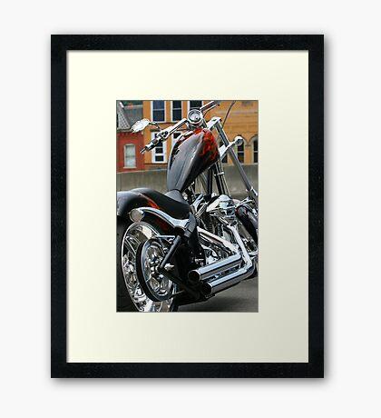 Ride In Chopper Framed Print
