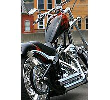 Ride In Chopper Photographic Print