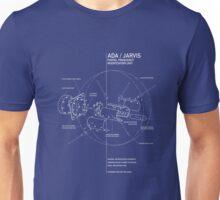 ingress : ADA/Jarvis central core unit Unisex T-Shirt