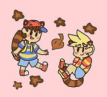 Tanooki cuties by arcadecutie