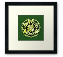 The Legend of Zelda - Hylian Design. Framed Print