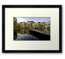 Boston Park Framed Print