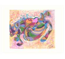 I Dream In Color Art Print