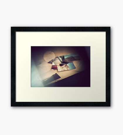 Oh, these marvelous things. Framed Print