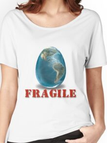 Earth-Fragile Women's Relaxed Fit T-Shirt