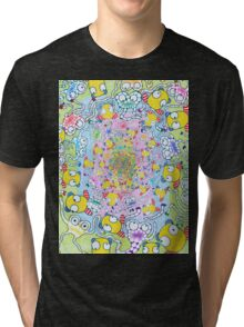 25 Cents Piece of Happiness  Tri-blend T-Shirt