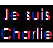 Je suis Charlie (multi) Photographic Print