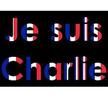 Je suis Charlie (multi) Photographic Print
