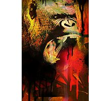Graffiti Gorilla Photographic Print