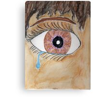 Lotte Cried Canvas Print