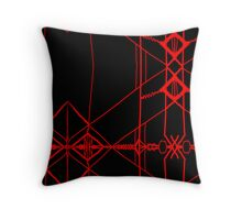 THE ROSE / UNDER THE OJO  Throw Pillow