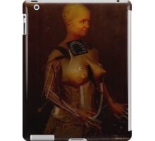 The perfect woman; test subject #2 iPad Case/Skin