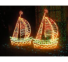 fairy boats Photographic Print