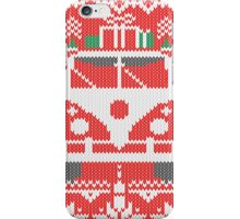 Vintage Retro Camper Van Sweater Knit Style iPhone Case/Skin
