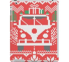 Vintage Retro Camper Van Sweater Knit Style iPad Case/Skin