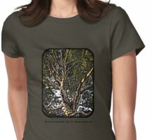 Sunshine in a Eucalypt tree Womens Fitted T-Shirt