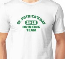St. Patrick's day drinking team 2015 Unisex T-Shirt