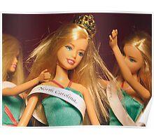 Beauty Queen Barbie Poster