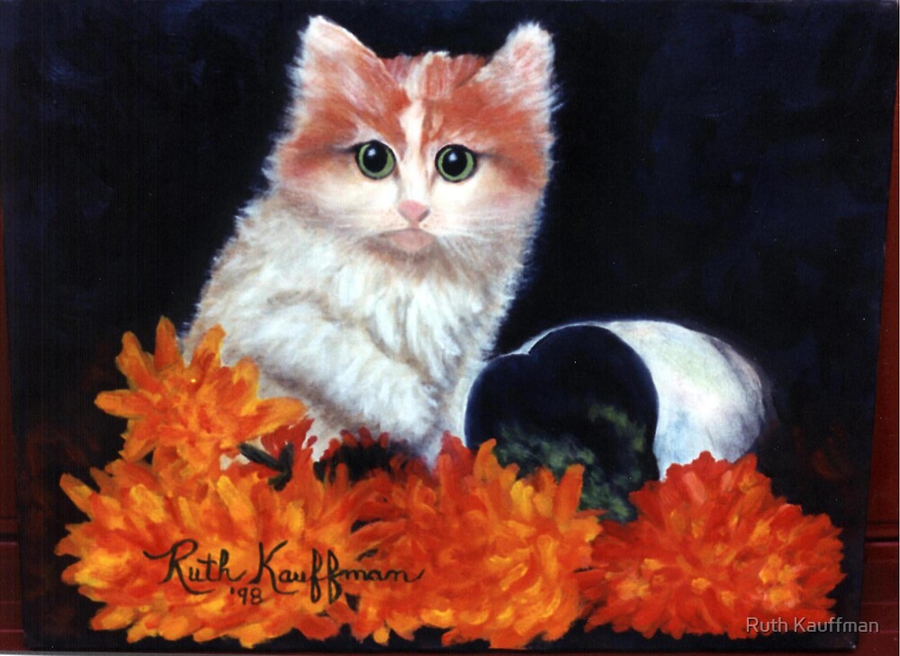 """Naughty Kitty"" by Ruth Kauffman"