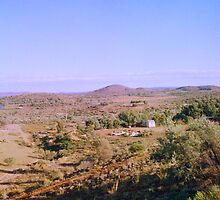 Broken Hill Vista by Juilee  Pryor