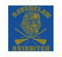 Ravenclaw quidditch Art Print
