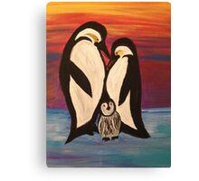 Arctic Penguin  Canvas Print
