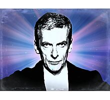 Dr Who Peter Capaldi Poster Sketch Photographic Print