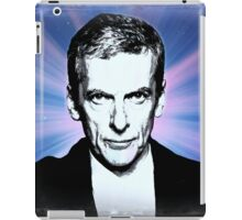 Dr Who Peter Capaldi Poster Sketch iPad Case/Skin