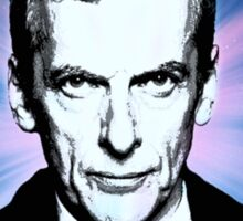 Dr Who Peter Capaldi Poster Sketch Sticker