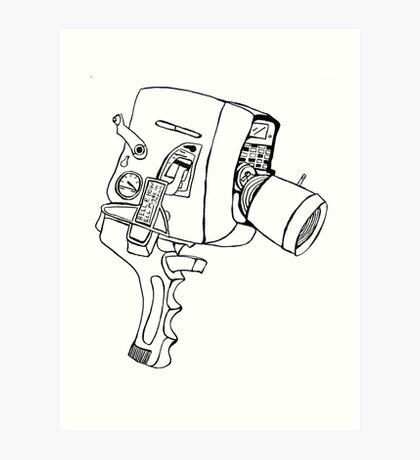 8mm Art Print