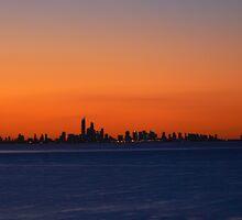 Sunset over Paradise by adelethomas