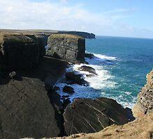 Loop Head Cliffs by John Quinn