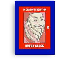 Vendetta Revolution Canvas Print