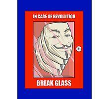 Vendetta Revolution Photographic Print