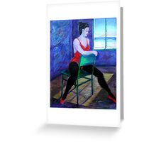 Gold Coast Dancer Greeting Card