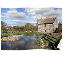 Bunratty Folk Park mill Poster