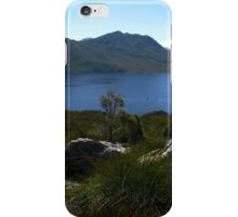 View to Lake Pedder #1 from Red Knoll Lookout iPhone Case/Skin