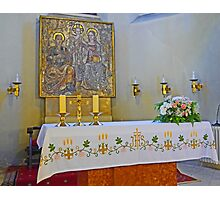 Altar in Jak Church Photographic Print