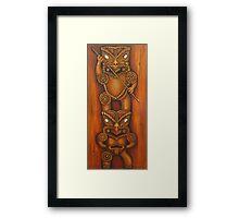 Rua Tiki Framed Print