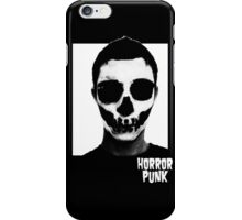Horror Punk Skullface iPhone Case/Skin