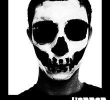 Horror Punk Skullface by Luke Kegley