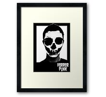 Horror Punk Skullface Framed Print
