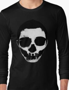 Horror Punk Skullface Long Sleeve T-Shirt