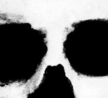 Horror Punk Skullface Sticker