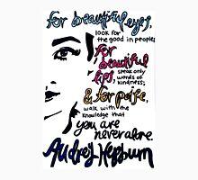 Audrey Hepburn Quote Design  Unisex T-Shirt
