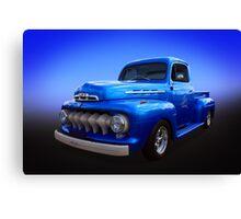 Bright Blue Canvas Print