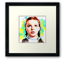 Wizard of Oz Dorothy Framed Print